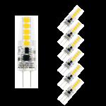 6-er Set 1, 8 W G4 LED Leuchtmittel Neutralweiß AC/DC 12 V 4000 Kelvin 180 Lumen