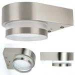 7W LED Aussenleuchte GX53 Sockel inkl. Leuchtmittel Aussenlampe 4000K 520LumenAussenleuchte Aussenlampe Wandleuchte Edelstahl Lampe GX53
