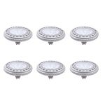 6er Set 12 W LED GU10 Qpar111 Leuchtmittel Warmweiß 3.000 K 900 Lumen