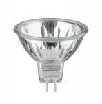 Halogen Reflektor Security 50W GU5, 3 12V 51mm Silber