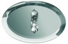 985.95 Paulmann Sternenhimmel Star EBL Set rund 10x10W 105VA 230/12V G4 63mm Spiegel Silber/Metall/Glas