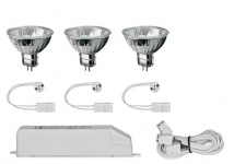 925.89 Paulmann Einbauleuchten 2Easy EBL Basis-Set 3x28W 105VA 230/12V GU5, 3 51mm
