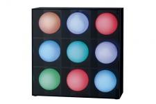 290.18 TIP Dekoleuchten TIP Mood Joy LED Tischleuchte 9 Kugeln max.2, 6W Multicolor 230V Kunststoff