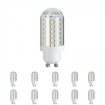 10x 281.67 Paulmann LED HV-Stiftsockel 3, 5W 60 LEDs GU10 230V Warmweiß 28167