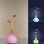 793.93 Paulmann Tischleuchten Table&Desk Vase LED Tischleuchte Opal 230V Glas
