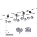 Paulmann LED Spot Geo Seilsystem 12V