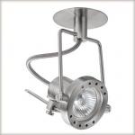 937.16 Paulmann Einbauleuchten Quality EBL Techno Spot max.50W 12V GU 5, 3 100mm Eisen gebürstet/Metall