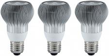 3 Stück - 280.67 Paulmann LED Leuchtmittel R63 Reflektor 38° 1x4W E27 Warmweiss