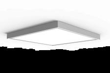 6391.1 LED Panel Aufbauleuchte weiss 62x62cm 36W 4300lm 4000K neural weiss