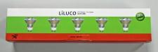 5x 08018-5 LILUCO ECO Halogen GU10 28W Leuchten Direkt 08018-5