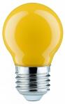280.33 Paulmann E27 Fassung LED Tropfen 0, 6W E27 Gelb