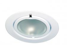 Möbel EBL Klipp Klapp max.20W 12V G4 72mm Weiß/Stahlblech/Glas