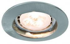 926.58 Paulmann Einbauleuchten Premium EBL Set starr LED 3x4W 230V GU10 51mm Eisen gebürstet/Alu zink