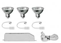 997.49 Paulmann Einbauleuchten 2Easy EBL Basis-Set 3x35W 105VA 230/12V GU5, 3 51mm