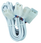 Kabelsätze mit Steckverbinder für 3 Leuchten 3x35W Weiß 12V
