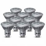 10 x LG LED Set GU10 4, 3W Leuchtmittel 230V Power LEDs