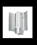 700.29 Paulmann Wandleuchten WallCeiling DS Modern Basis WL Reflektor max.18W G24d2 Chrom matt 230V Kunststoff/Metall