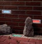 994.87 Paulmann Profi Einbauleuchte Wand LED 1W RGB 230V 170x70mm Edelstahl/Metall 99487