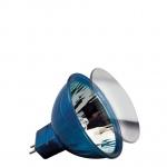 HKLS Happy Color mit Schutzglas BAB flood 38° 20W GU5, 3 12V 51mm Blau