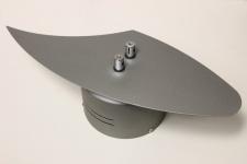 Sicherheits Deko Trafo 105VA 12V 50HZ 230V Seil-Schiene chrom-matt