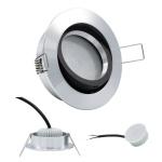 LED Einbauleuchte 96528 Alu 5W 3000K 230V Modul flache Einbautiefe 35mm