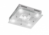 956205010000 Action Deckenlampe Brooks LED Deckenleuchte 5 x 5 W 3.000 K 2.100 Lumen Chrom