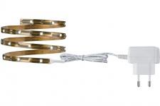 3327 Nice Price LED-Stripes Nice Price LED Stripe Set 1m Kaltweiß 2, 4W 230/12VDC Kupfer Metall