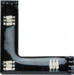 700.97 Paulmann FixLED Function FixLED RGB 90°-Connector 3x0, 24W LED Schwarz-Kunststoff