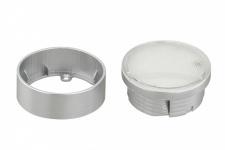 2748-014 Briloner LED-Auf-, Ein- und Unterbauleuchte 21 LEDs titanfarbig 3000K