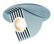 925.10 Paulmann Einbauleuchten Premium EBL Set Bow LED kippbar 65° 1x6, 5W 230V/350mA 100mm Chrom matt/Alu
