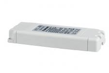 VDE Euro Flat Elektroniktrafo max.35-105W 230V 105VA Weiß