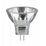 Halogen Reflektor Security flood 30° 2x20W GU4 12V 35mm Silber