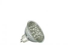 10 x 4103.10 Nice Price 12V LED Reflektor 24° 1W GU5, 3 Fassung 51mm Warmweiß