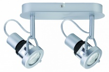 665.35 Paulmann Deckenleuchten Spotlights Ring ESL 2x11W GU10 Chrom matt 230V Metall