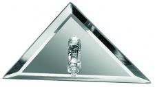 985.35 Paulmann Sternenhimmel Star EBL Set dreieckig 10x10W 105VA 230/12V G4 96mm Spiegel Silber/Metall/Glas