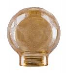 875.62 Paulmann Leuchtmittel Zubehör Glas Tropfen Minihalogen Krokoeis gold