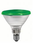 Reflektorlampe PAR38 80W E27 Grün