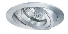 Premium EBL Set Drilled Alu rund schwb. 3x35W 105VA 230/12V GU5, 3 51mm Alu ged.