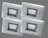 994.39 Paulmann Premium Einbaustrahler Quadro 4x35W 12V 99439