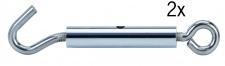 178.00 Paulmann Seil Zubehör Wire System Light&Easy Seilspanner 1 Paar Chrom Metall