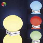290.30 Paulmann RGB Tischleuchten Table&Desk Living Globe LED Tischleuchte Opal 230V Glas