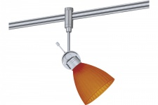 972.75 Paulmann Phantom Spot Phila Chrom mat Orange/Gelb inkl. Leuchtmittel in 40W G9