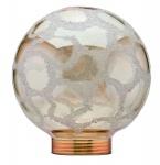 875.35 Paulmann Leuchtmittel Zubehör Glas Globe 80 Krokoeis gold