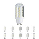 10 x 28167.10 Paulmann LED HV-Stiftsockel 3W 60 LEDs GU10 Fassung 230V Warmweiß 28167