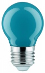10 x 28034.10 Paulmann E27 Fassung LED Tropfen 0, 6W Blau