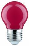 280.31 Paulmann E27 Fassung LED Tropfen 0, 6W E27 Rot