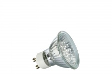 4102 Nice Price GU10 Fassung NP LED Reflektor 24° 1W GU10 230V 51mm Warmweiß