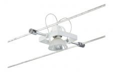 974.97 Paulmann Seil Zubehör Wire System Light&Easy Spot Mac II 1x35W GU5, 3 Weiß 12V Metall