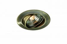 59333/06/10 Massive 3er Einbauleuchten Set 3 x 50 W GU10 Bronze gebürstet