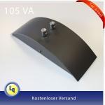 991.85 Paulmann elektronischer Deko Trafo schwarz 99185 105VA 12V 50HZ - 230V Schienen